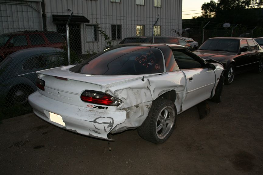 Wrecked Camaro For Sale | Autos Weblog
